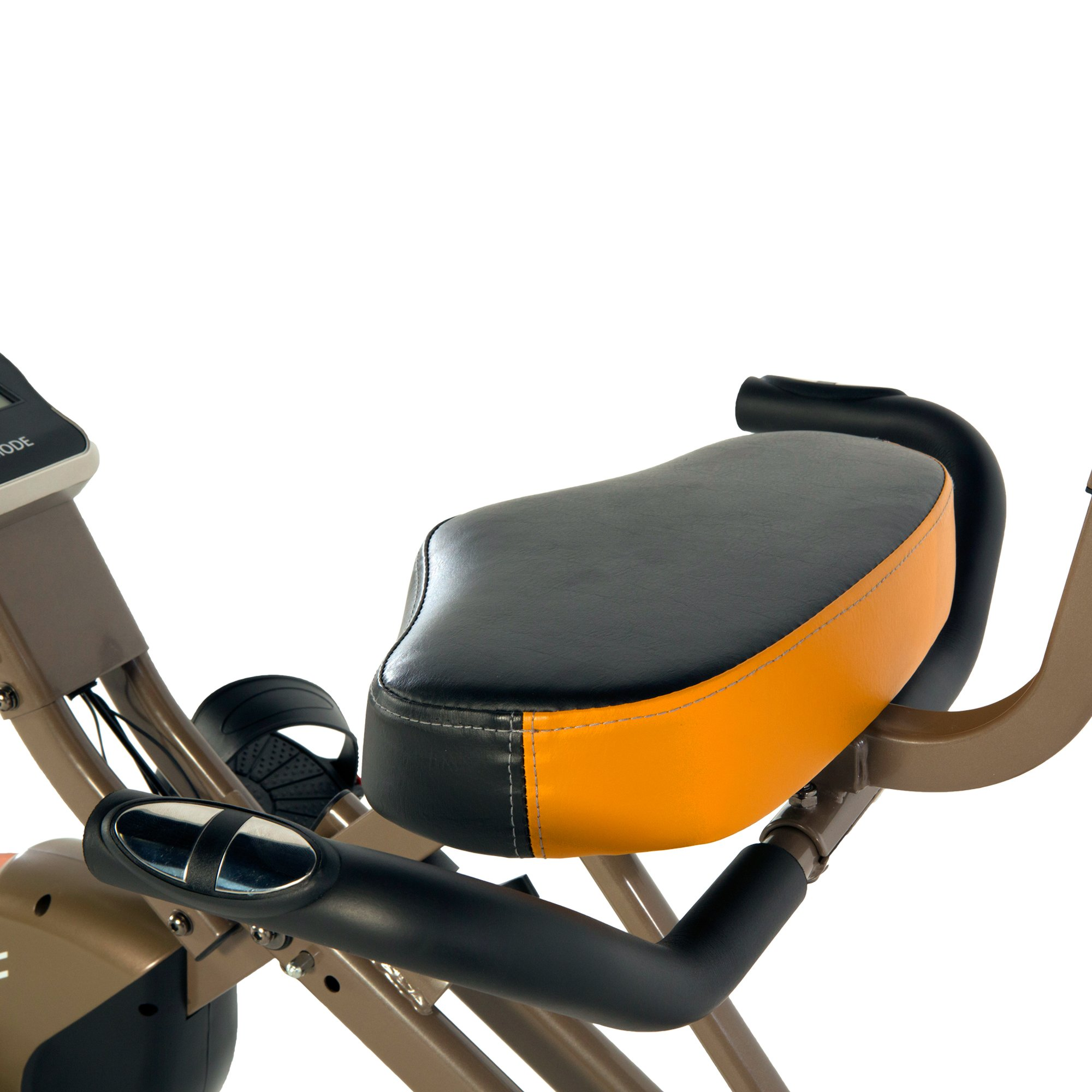 Exerpeutic Gold 525XLR Folding Recumbent Exercise Bike, 400 lbs by Exerpeutic (Image #4)