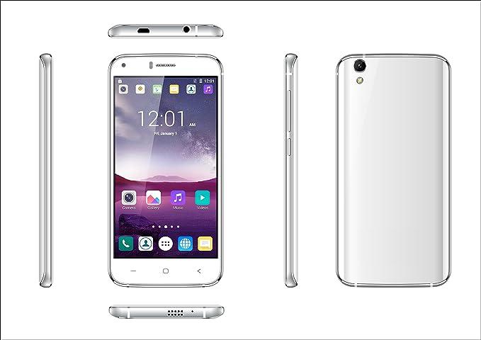 Smartphone INFINITON T5 (Blanco), Quad-Core 1.3GHz, Pantalla 5.0 ...
