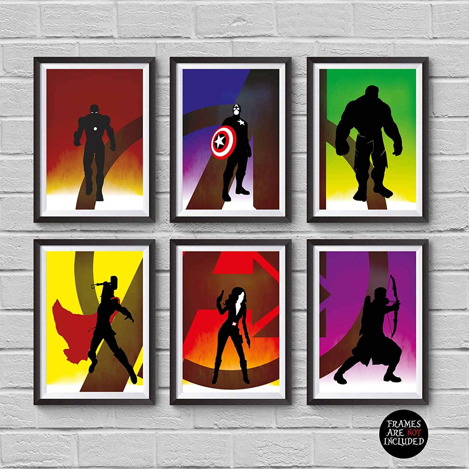 Thor A4 A3 A2 Avengers HD Prints MARVEL SUPERHERO MOVIE POSTERS Iron Man