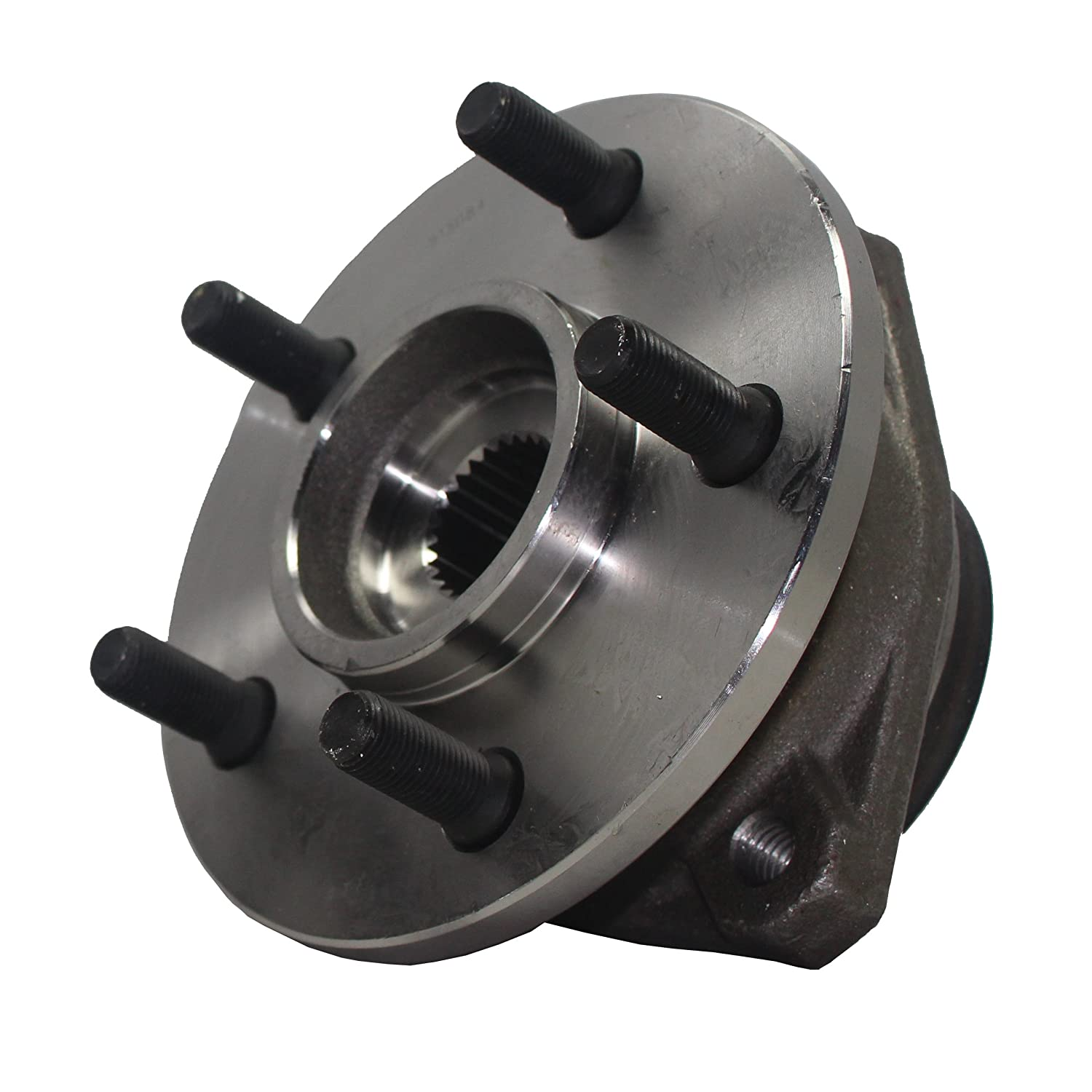 ECCPP Wheel Hub Bearing Assembly Front 8 Lugs w//ABS for Chevrolet GMC 1999-2007 Compatible with 515058