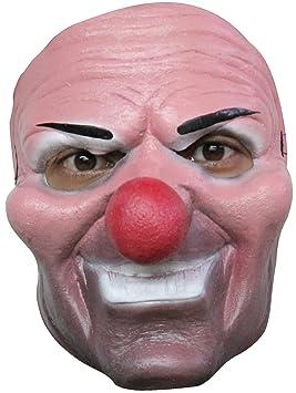 Máscara de payaso asesino adulto Halloween
