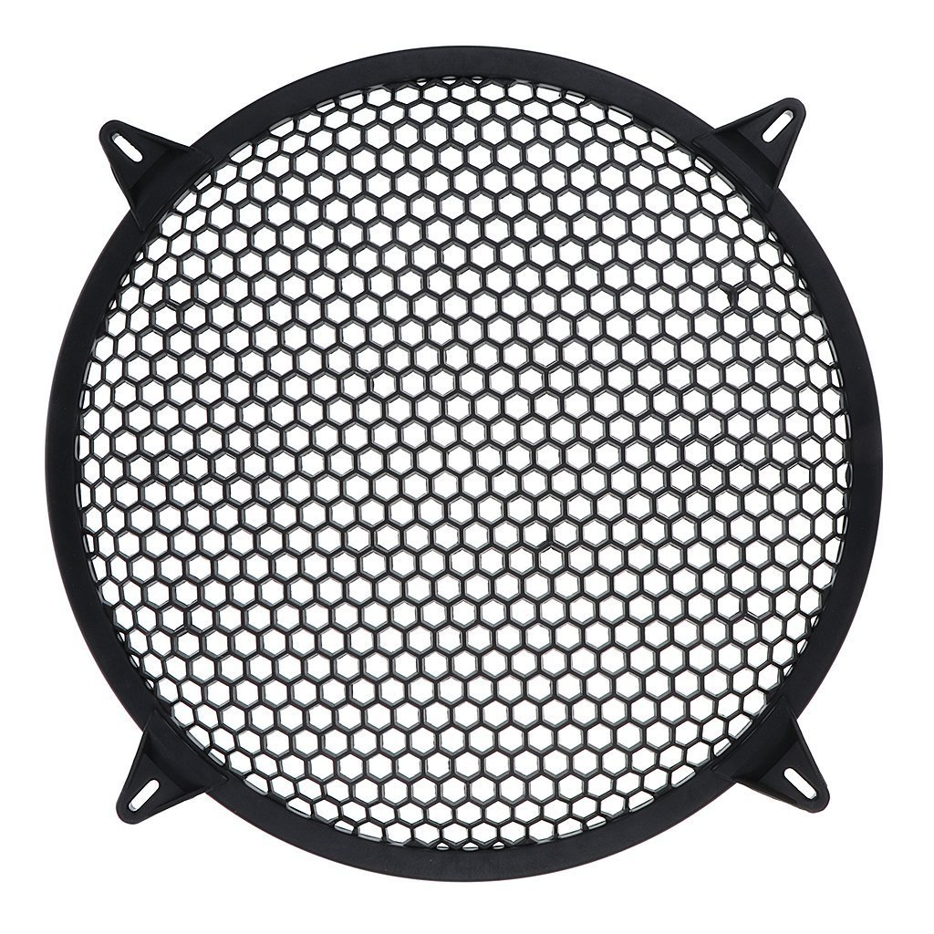 TOOGOO Subwoofer Grid Car Speaker Amplifier Grill Cover Mesh - 10 Inch