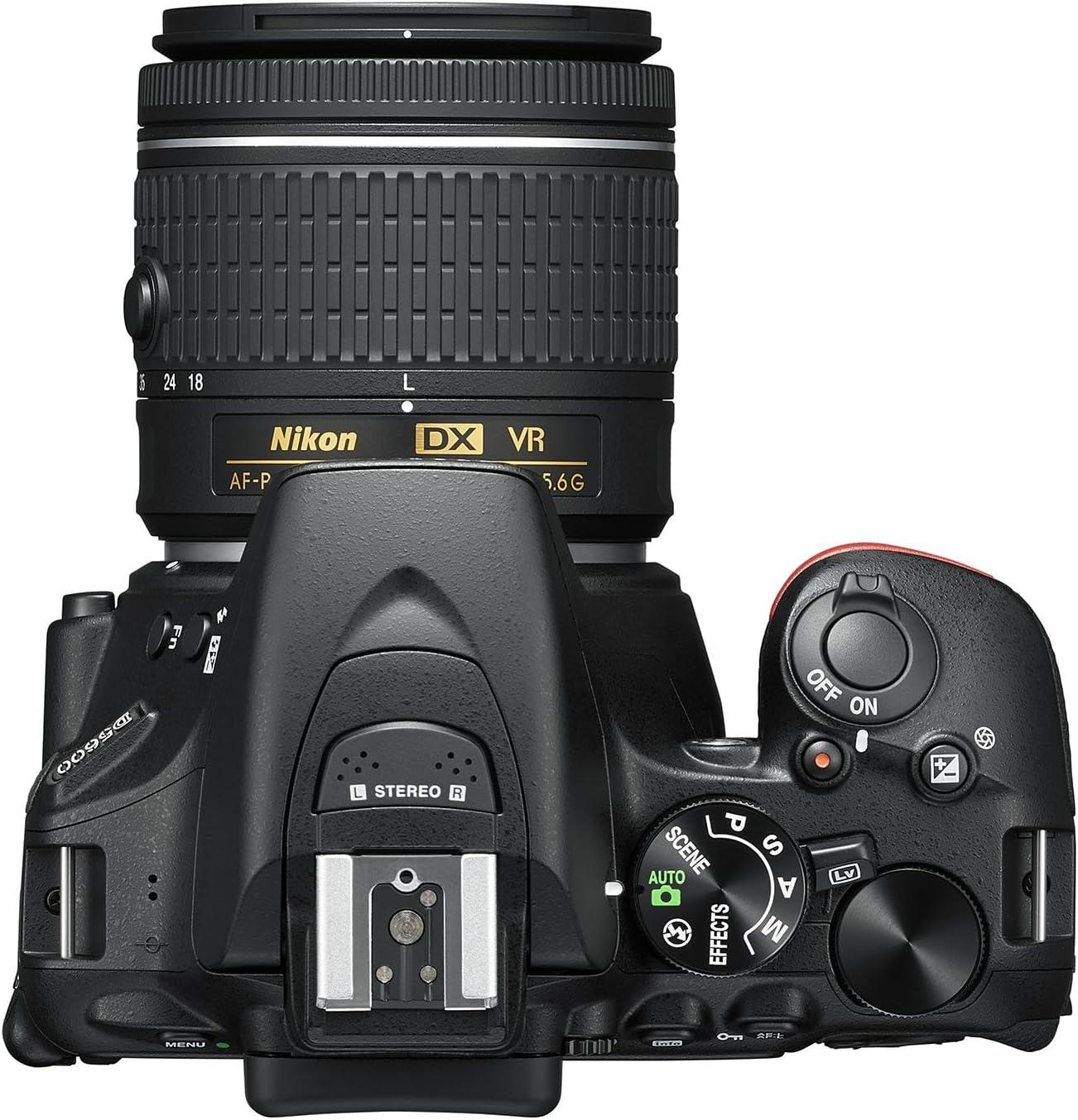 Nikon d5600 Cámara réflex Digital, Negro [Nital Card: 4 años de ...