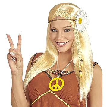 WIDMANN peluca hippie, One size