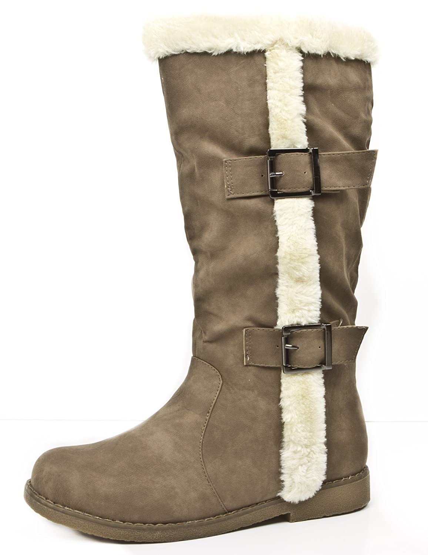 Damen Winterstiefel gefuettert gefuettert gefuettert warm Stiefel Damenwinterstiefel, Farbe Beige, EU 41 7ad4ea