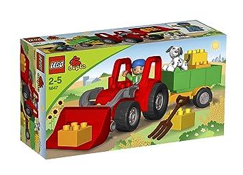 Lego duplo 5647 großer traktor: amazon.de: spielzeug