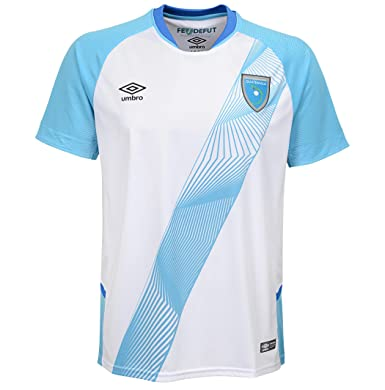 26ca992443e Amazon.com  Umbro Men s Guatemala Home Jersey- White  Clothing