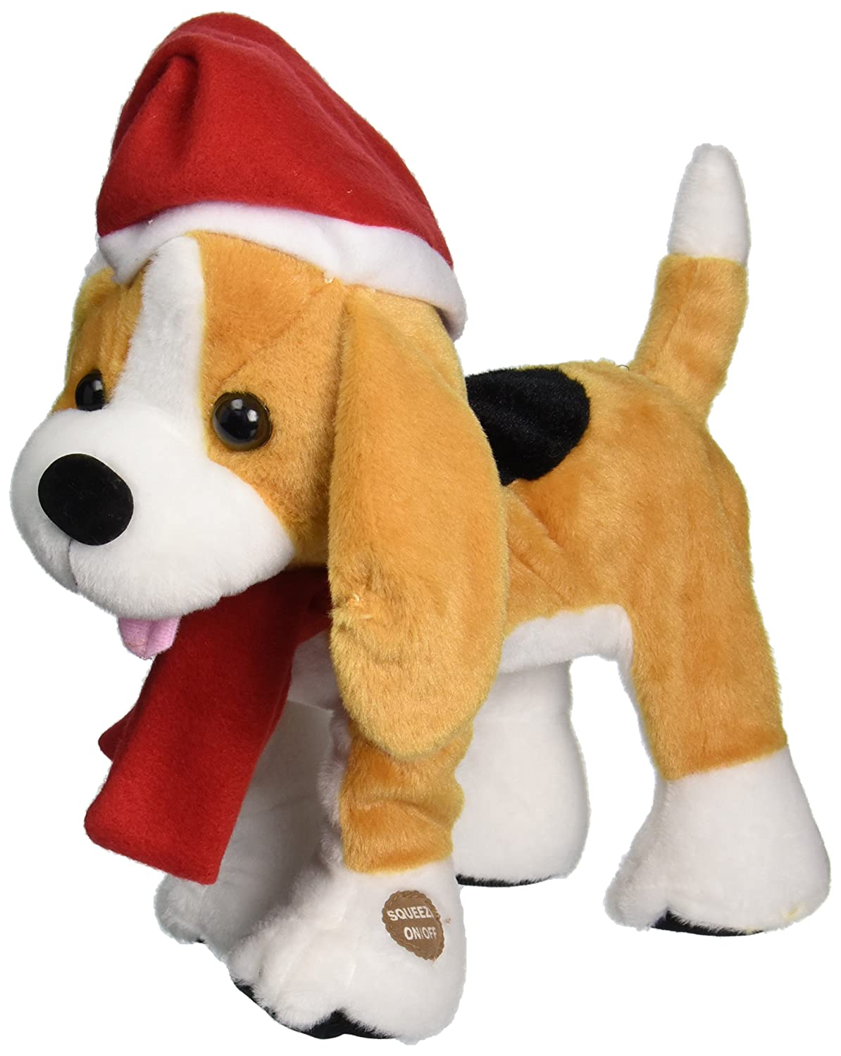 Chantilly Lane Barney The Christmas Beagle Plush by Chantilly Lane