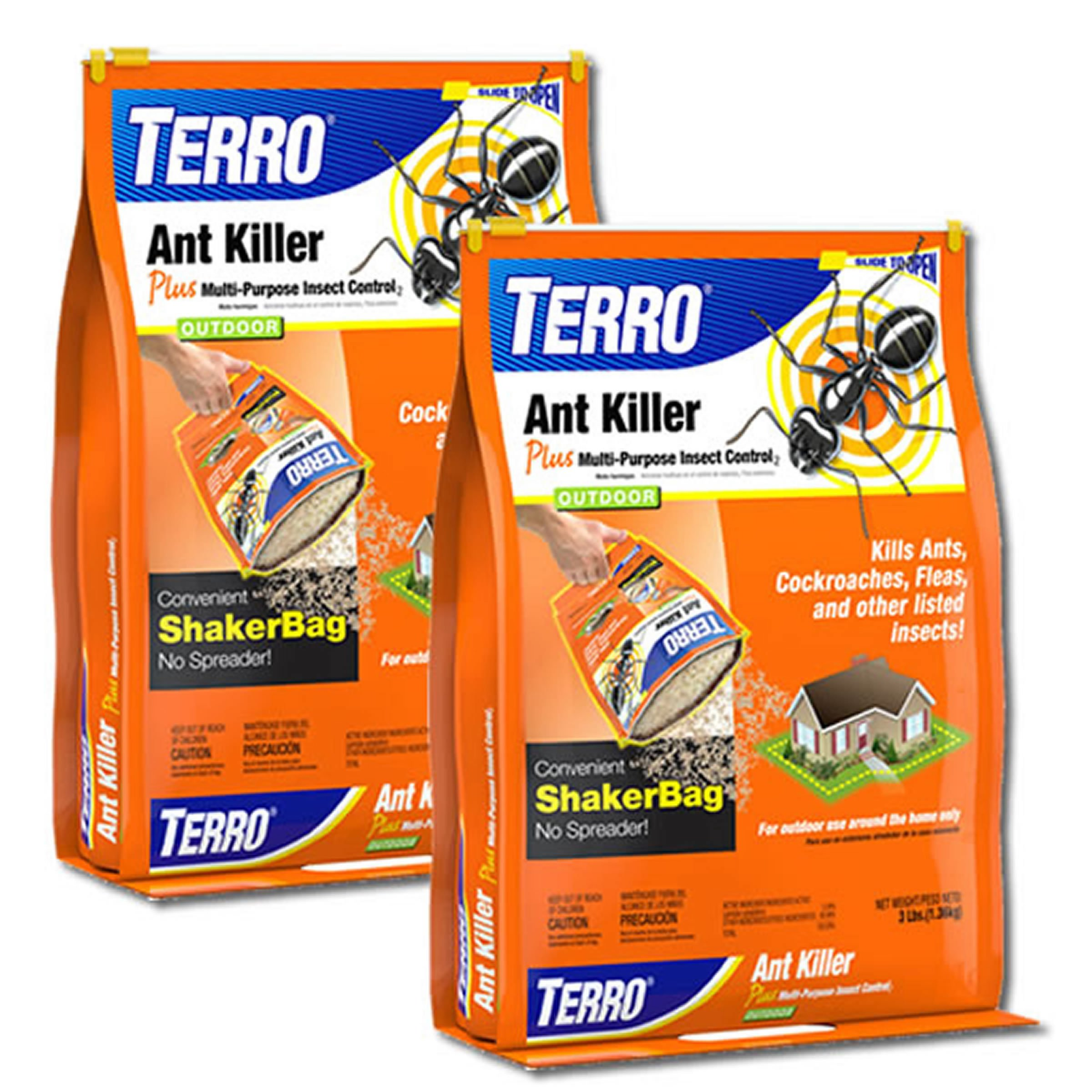 Terro T901-2 2-Pack Granular Ant Killer Plus