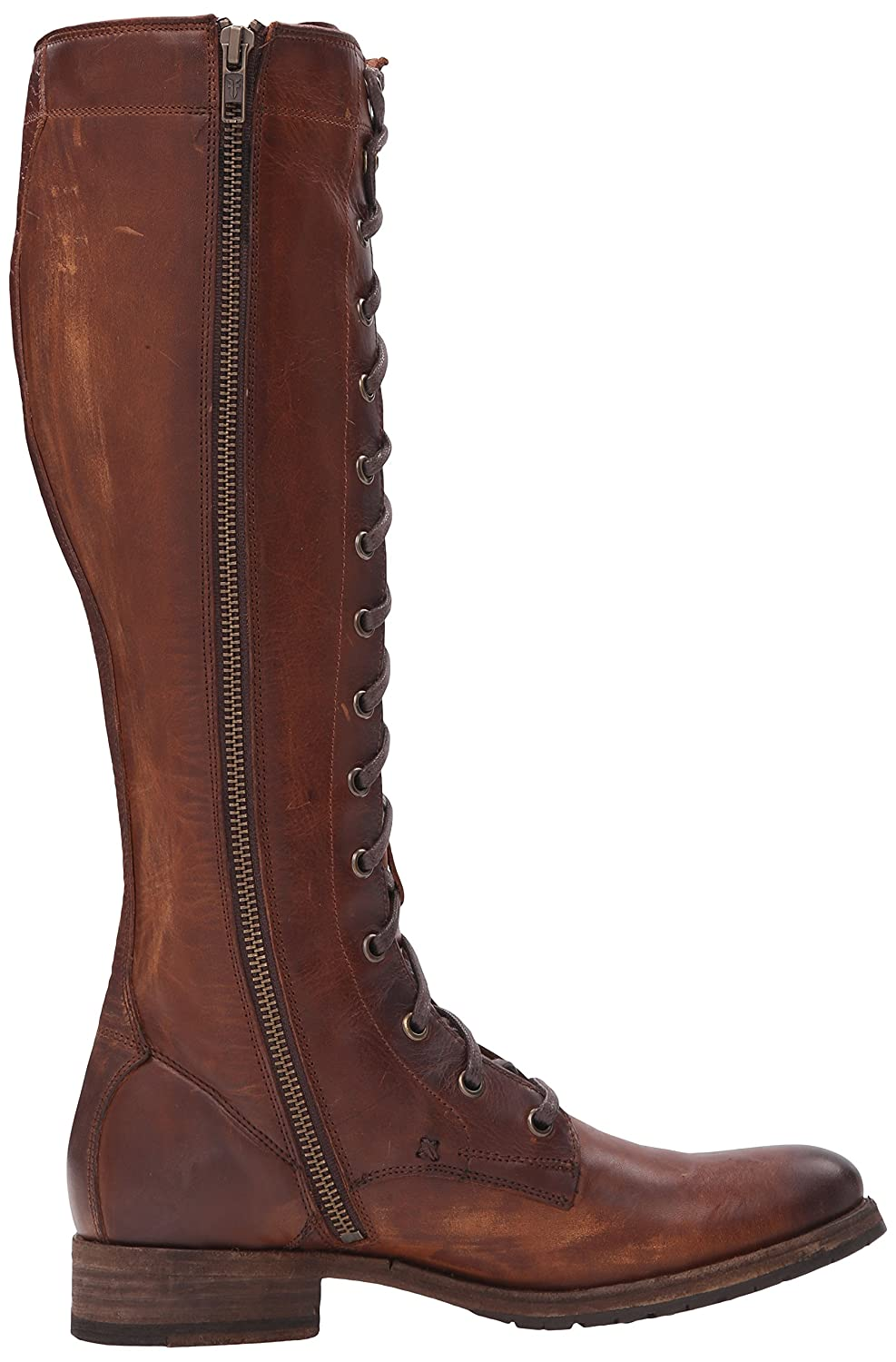 Frye Women's Melissa Tall Lace Riding Boot, Brown: Amazon.co.uk: Shoes &  Bags