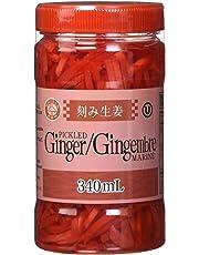 Wagaya Kizami Shoga Ginger, Red, 340ml