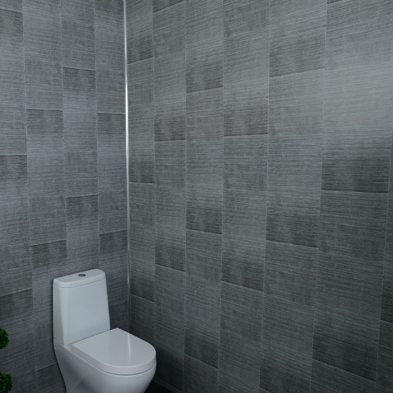 White Gloss Effect-100/% Waterproof-by Claddtech Bathroom Shower Cladding Wall Panels-Ceiling Panels 5 Panel Pack