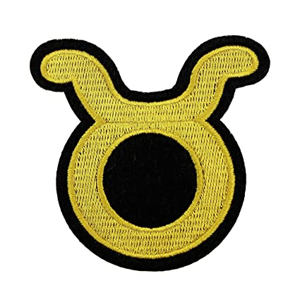 Amazon Rechere 12 Constellation Symbols Zodiac Embroidered Iron
