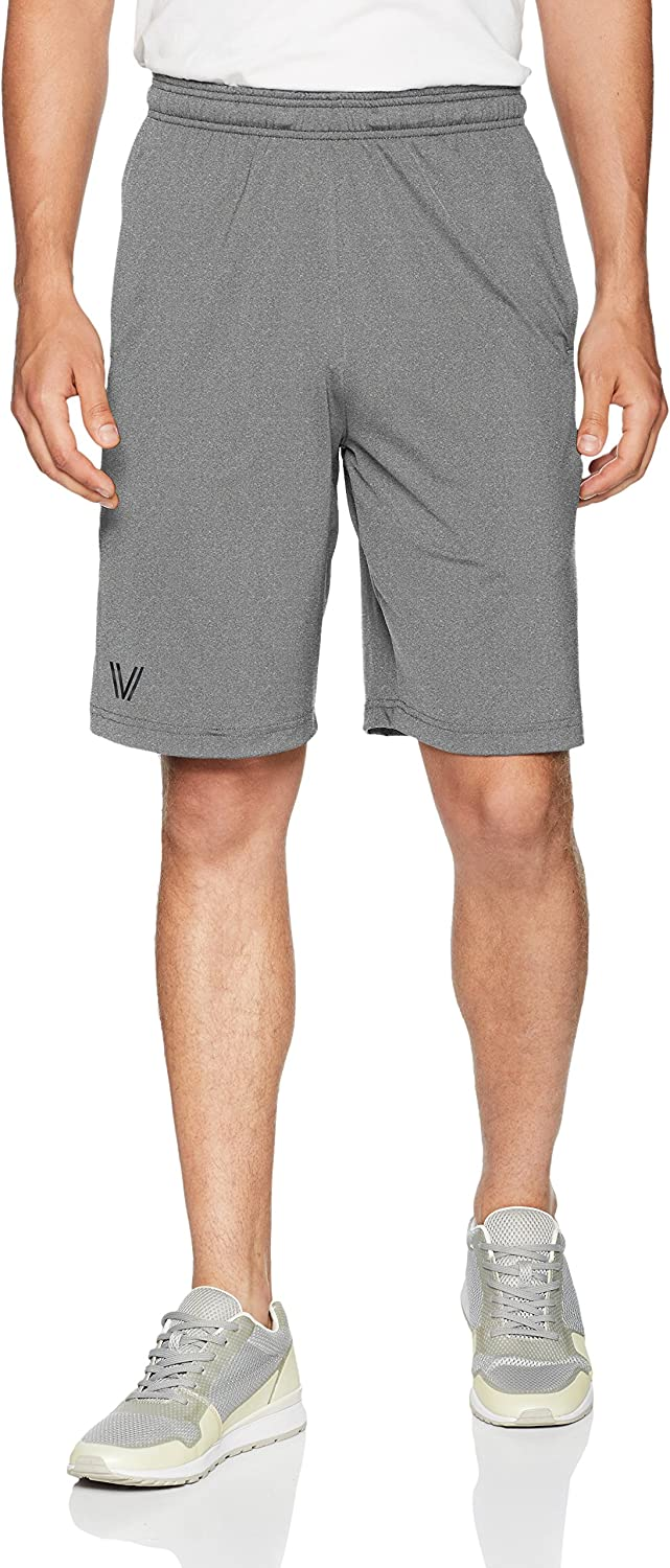 "Brand - Peak Velocity Men's Elite-Stretch Quick-Dry 10"" Short: Clothing"