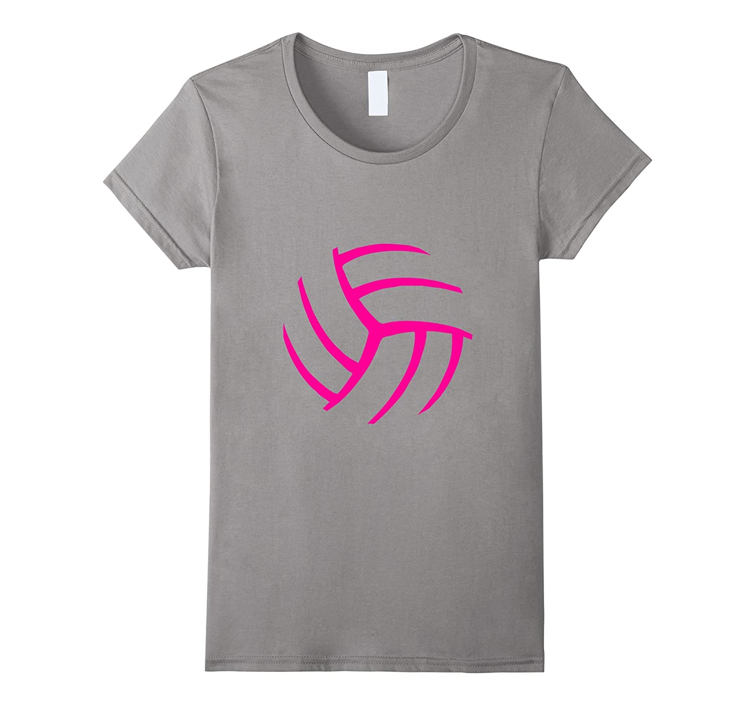Women Volleyball Apparel - Graphic design t-shirt for girls-Rose