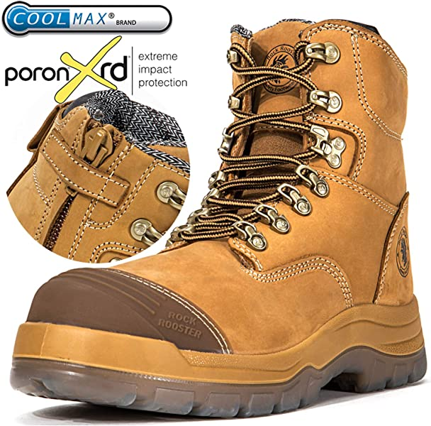 091a464163aa Amazon.com  ROCKROOSTER Men s Work Boots