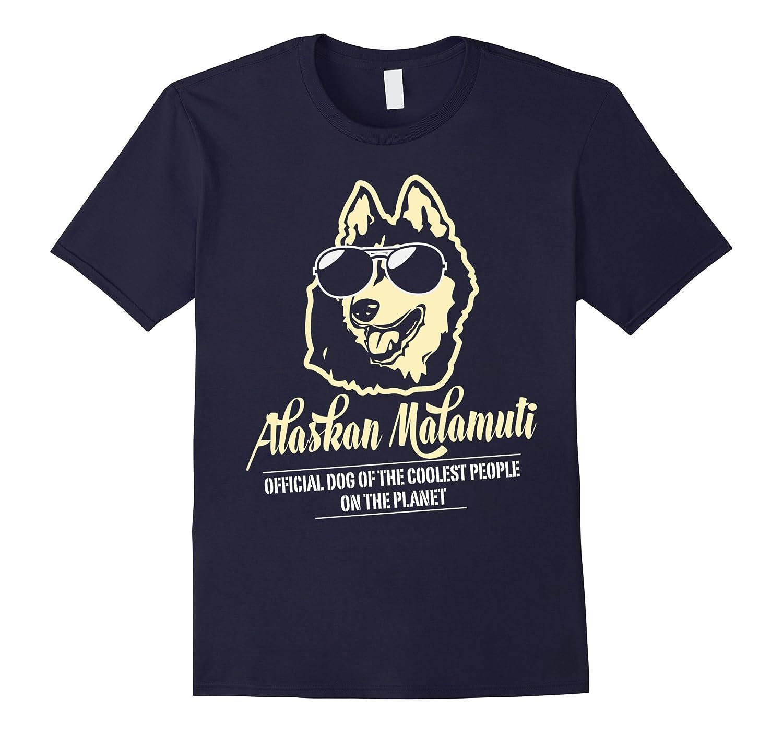 Alaskan Malamute Official Dog On The Planet T-Shirt-Art