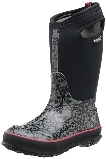3507c24c6 Bogs Classic Skulls Waterproof Insulated Rain Boot (Toddler/Little Kid/Big  Kid)