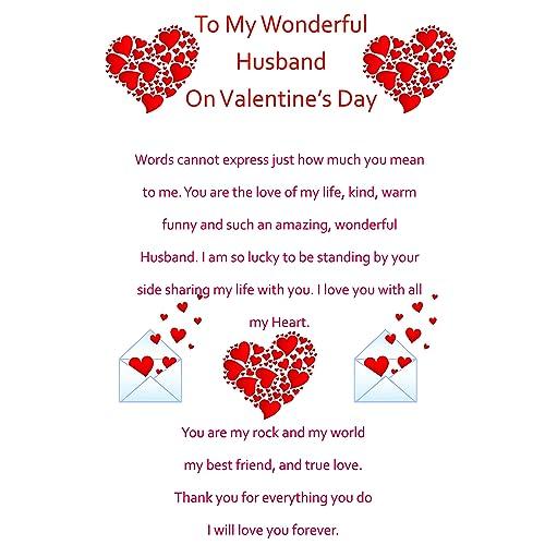 Valentine Cards Husband Amazon Co Uk