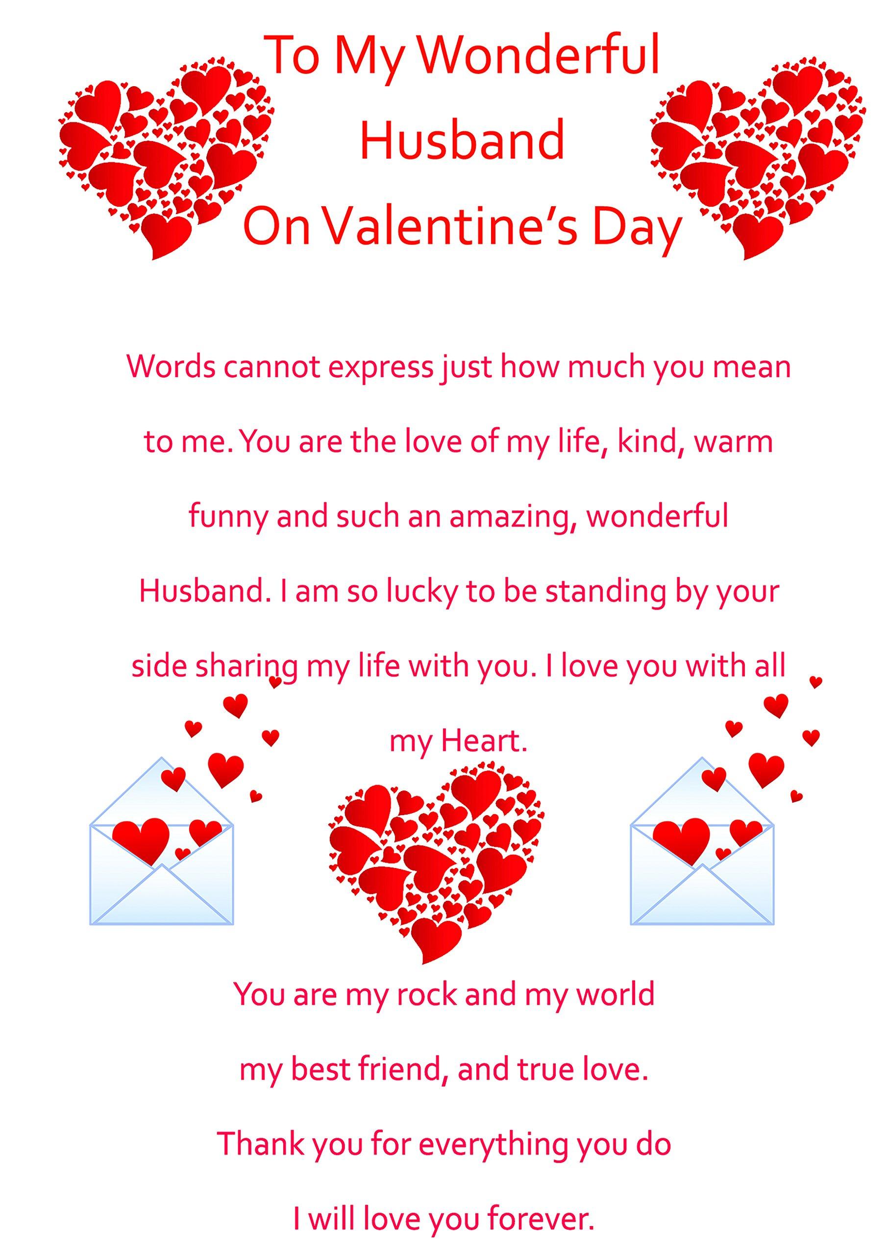 Valentine card husband amazon husband valentines card 2 m4hsunfo
