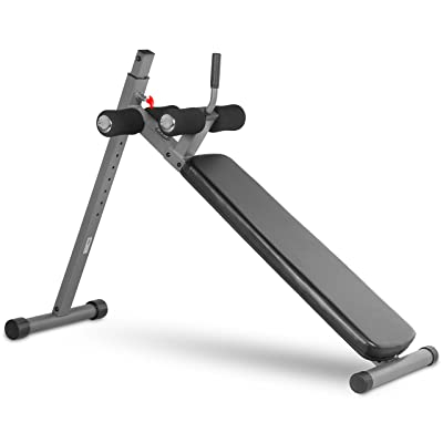 XMark Adjustable Decline Ab Workout Bench