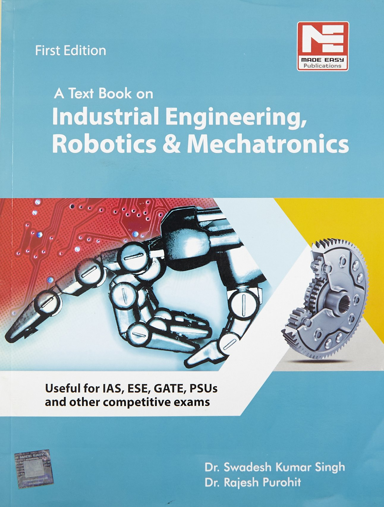 Buy A Text Book on Industrial Engineering, Robotics