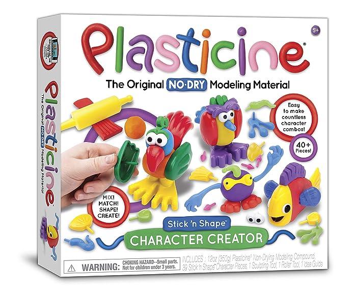 Plasticine Character Creations Kit-