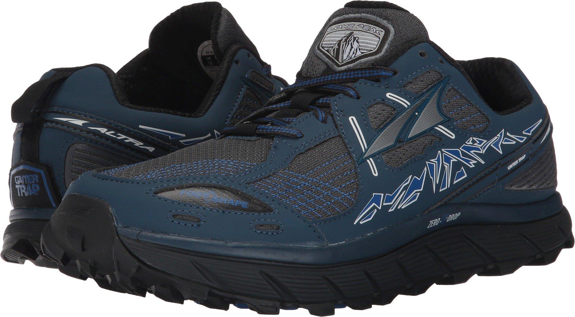 Altra Men's Lone Peak 3.5 Running Shoe, Blue, 10.5 D US