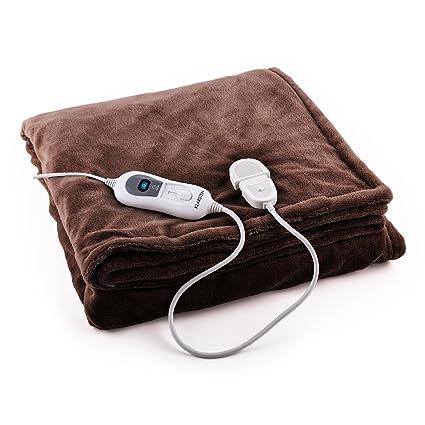 Klarstein Dr. Watson L • Manta eléctrica • Frazada eléctrica • Calentador de cama •