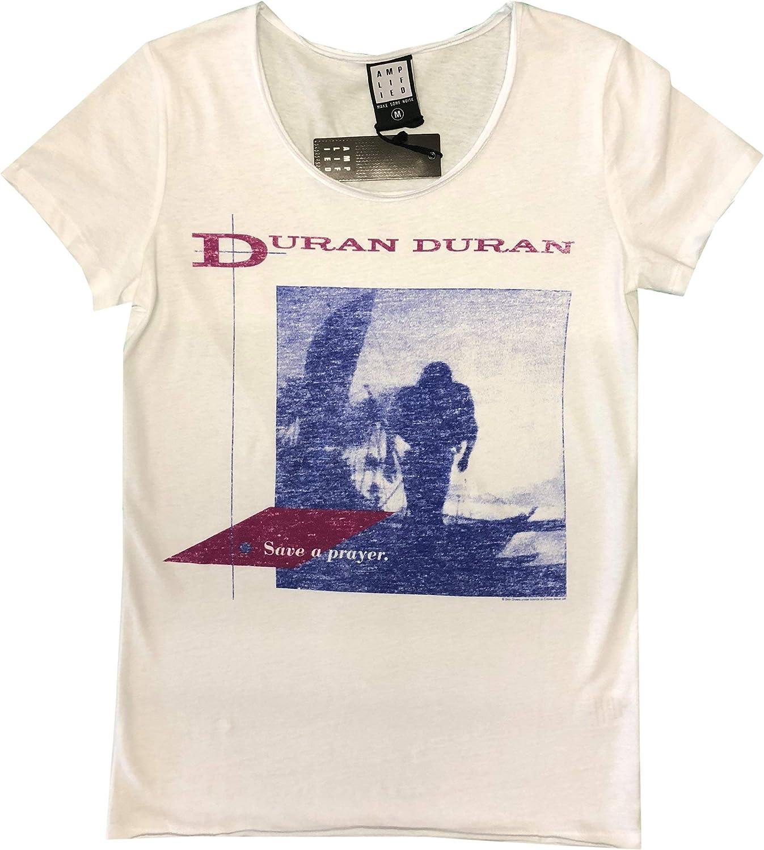 Save A Prayer Amplified Duran Duran Men/'s White T-Shirt