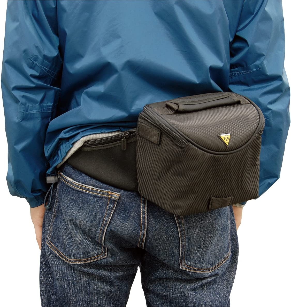 Black by Topeak Topeak Compact Handlebar Bag
