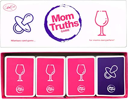 Amazon Com Mom Truths Cat And Nat Party Game Toys Games