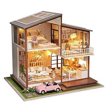 Cuteroom Casa Delle Bambole Fatta A Mano In Legno Fai