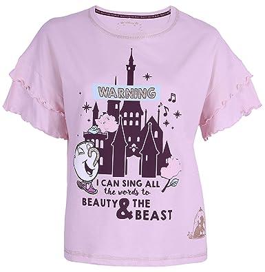 Chemisier Rose La Belle Et La Bete Disney Amazon Fr Vetements Et