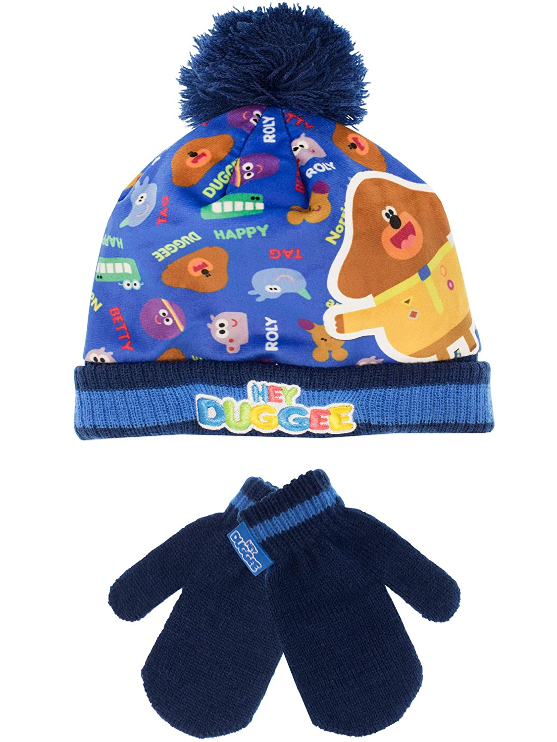 2cd32343164 Hey Duggee Boys Squirrel Club Hat and Gloves Set One Size ...