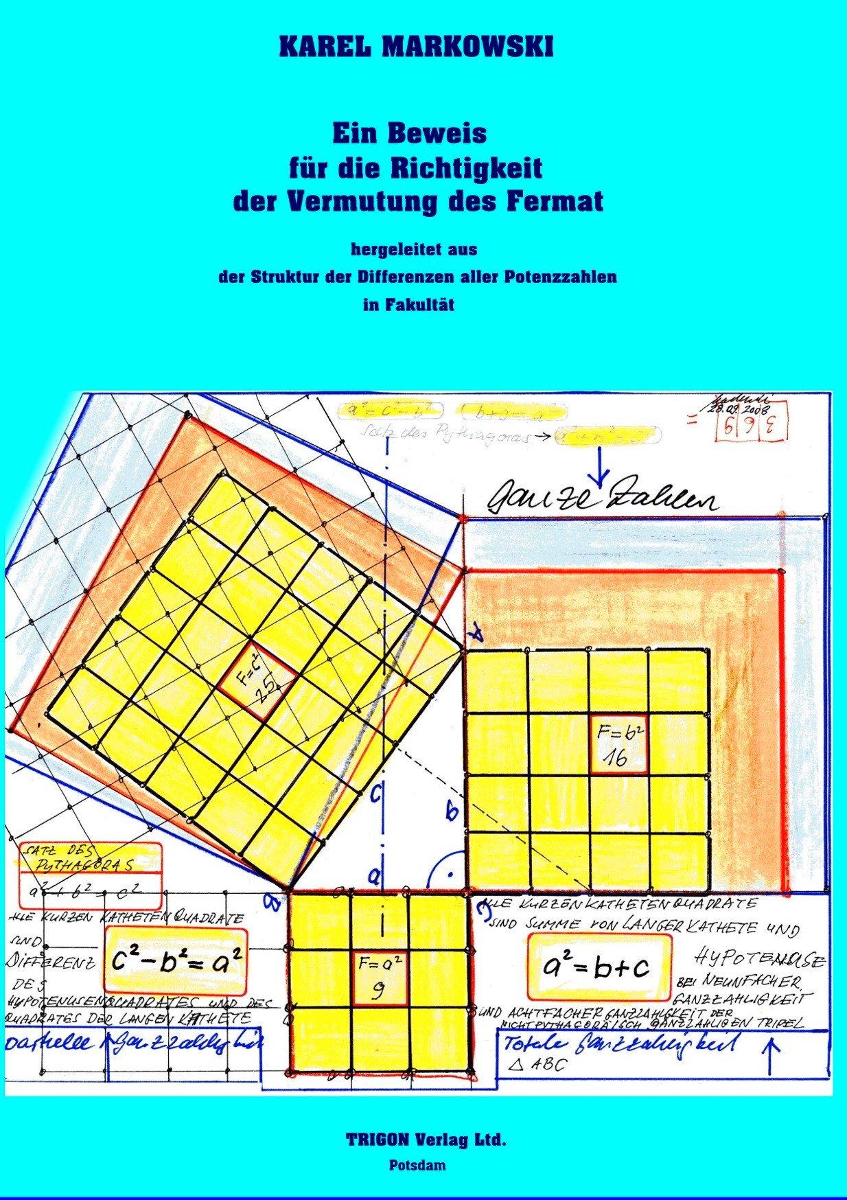 Ein Beweis für die Richtigkeit der Vermutung des Fermat