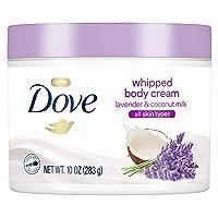Dove Whipped Lavender and Coconut Milk Body Cream 10 oz