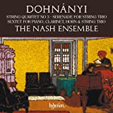 Dohnanyi:String Quartet [The Nash Ensemble ] [Hyperion: CDA68215]