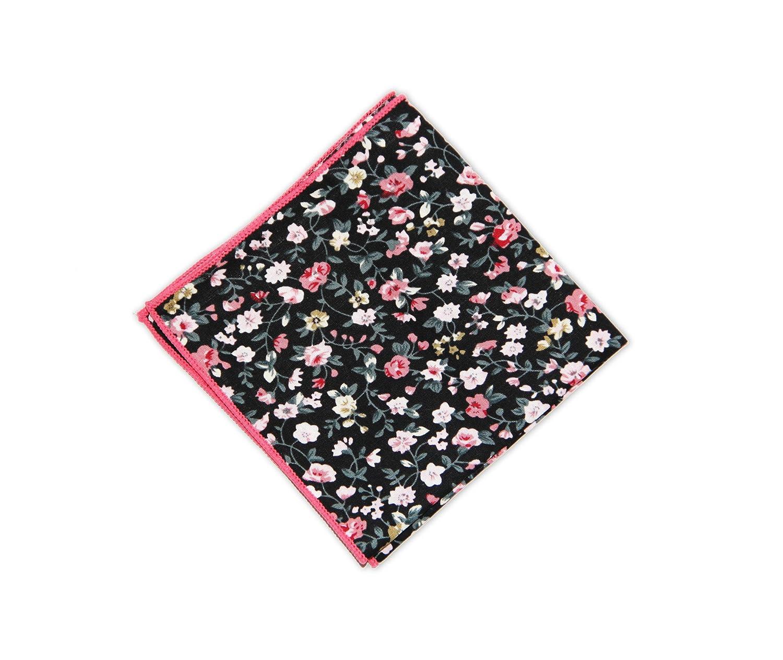 Sunvan Mens Cotton Handkerchief Pocket Square for Coat Blazer Suit Wedding Prom