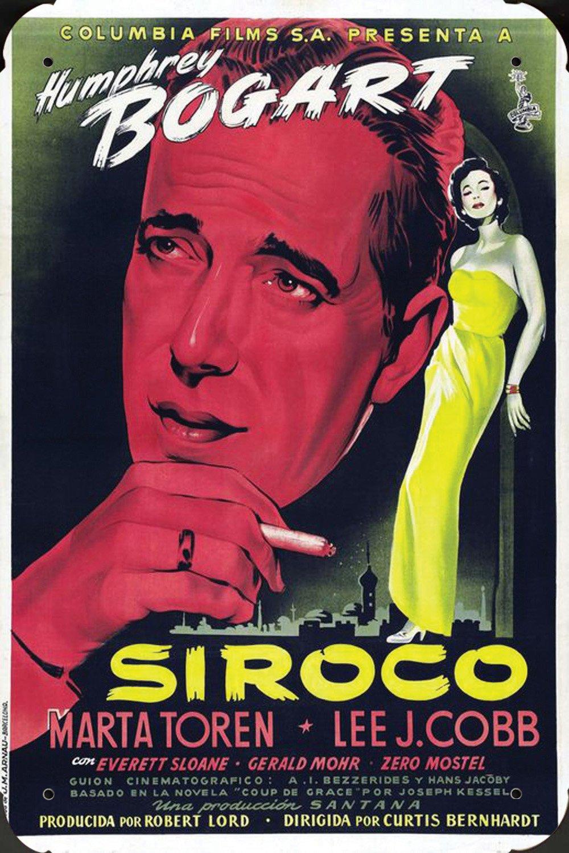 Sirocco Ver2 pelicula metal poster cartel hojalata signo ...