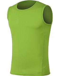 5729d813f H.MILES Men's Lightweight Sleeveless T-Shirt Workout Essential Tank Tops