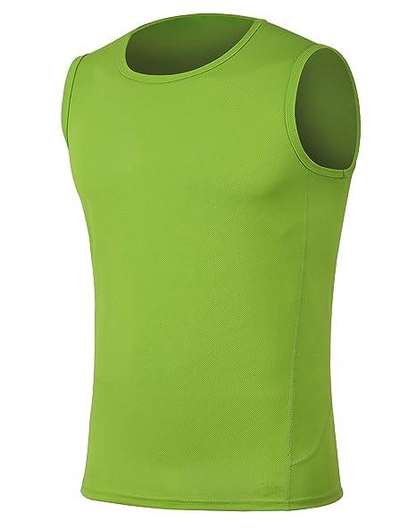 d7a18f69a239ab H.MILES Men s Lightweight Sleeveless T-Shirt Workout Essential Tank ...
