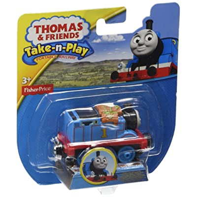Fisher-Price Thomas & Friends Take-n-Play, Thomas & The Slithery Snakes Engine: Toys & Games