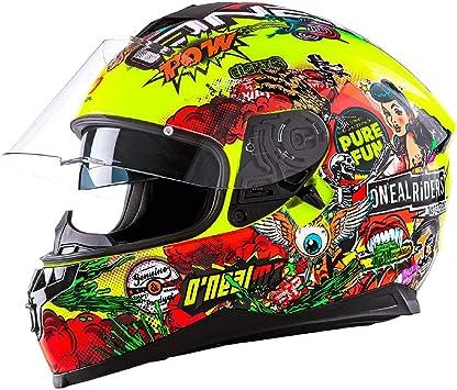 Casco de motocicleta Challenger Crank de la marca Oneal.: Amazon.es: Deportes y aire libre