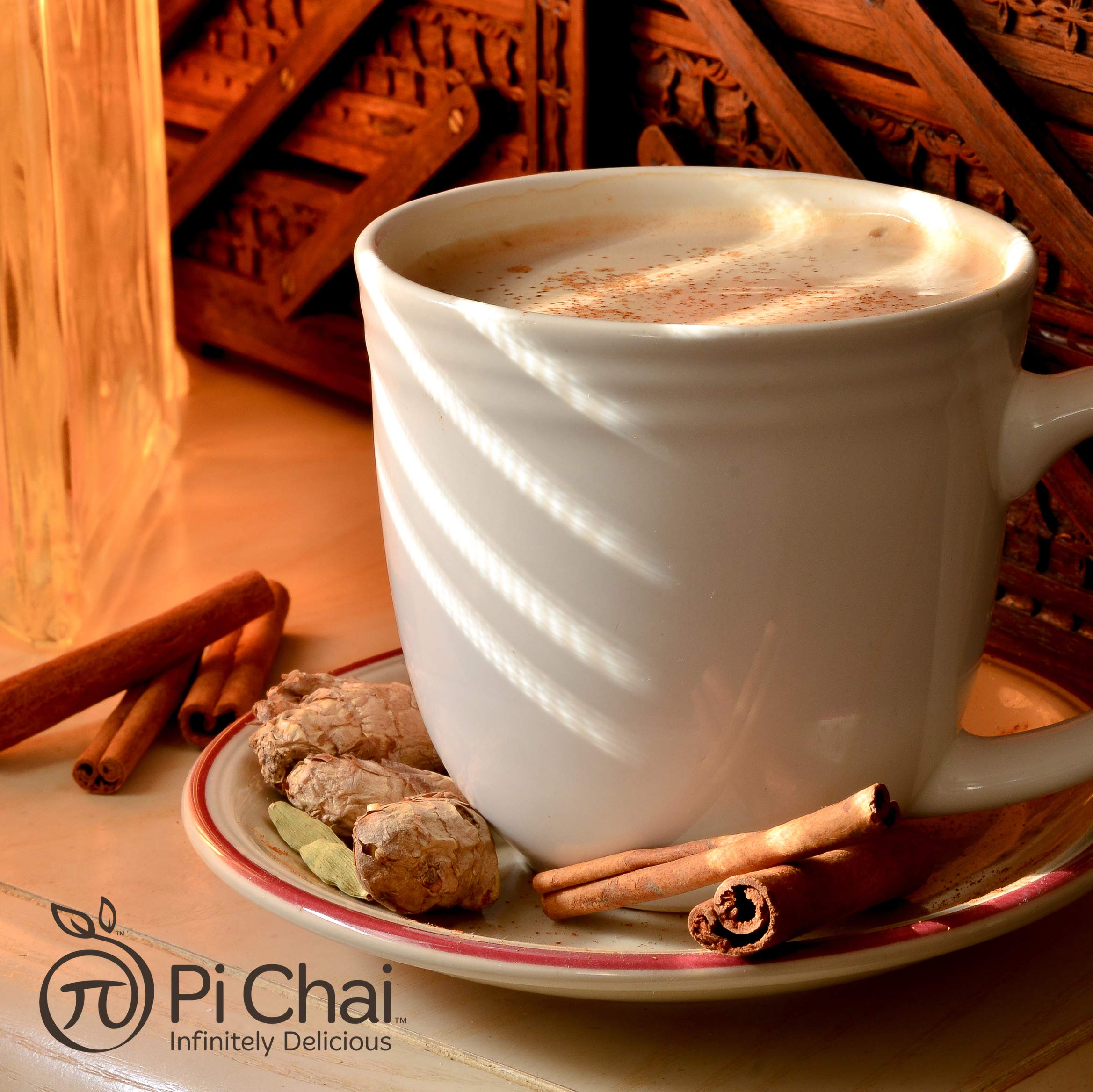 Pi Chai Original, Chai Tea Latte Mix, Black Tea, Exotic Spices, 4.02 Pound by Pi Chai (Image #5)