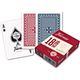 Fournier-nº18 Baraja de Cartas Poker Clasica, Color azul/rojo (174007) , color/modelo surtido