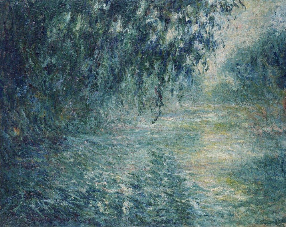 Morning on the Seine – 傑作クラシック – アーティスト:クロードモネC。1898 36 x 54 Giclee Print LANT-69365-36x54 36 x 54 Giclee Print  B01MPZUM1F
