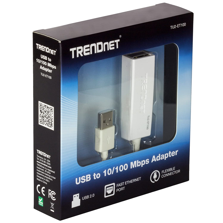 TRENDNET TU-ET100 USB TO ETHERNET ADAPTER TREIBER