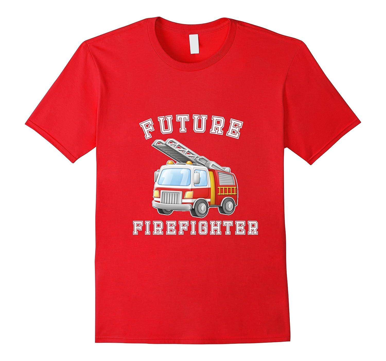 Boys Future Firefighter Community Helper Costume T-Shirt-TJ