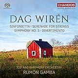 Wiren: Sinfonietta/Diverti [Iceland Symphony Orchestra; Rumon Gamba] [Chandos: CHSA 5194]